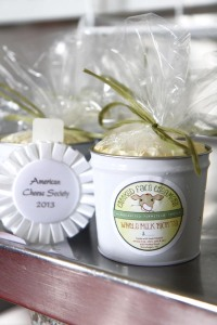 Photo by Jeff Pouland AWARD-WINNING RICOTTA: Crooked Face Creamery's whole milk ricotta cheese recently won third place in the nation at the American Cheese Society Conference in Madison, WI.